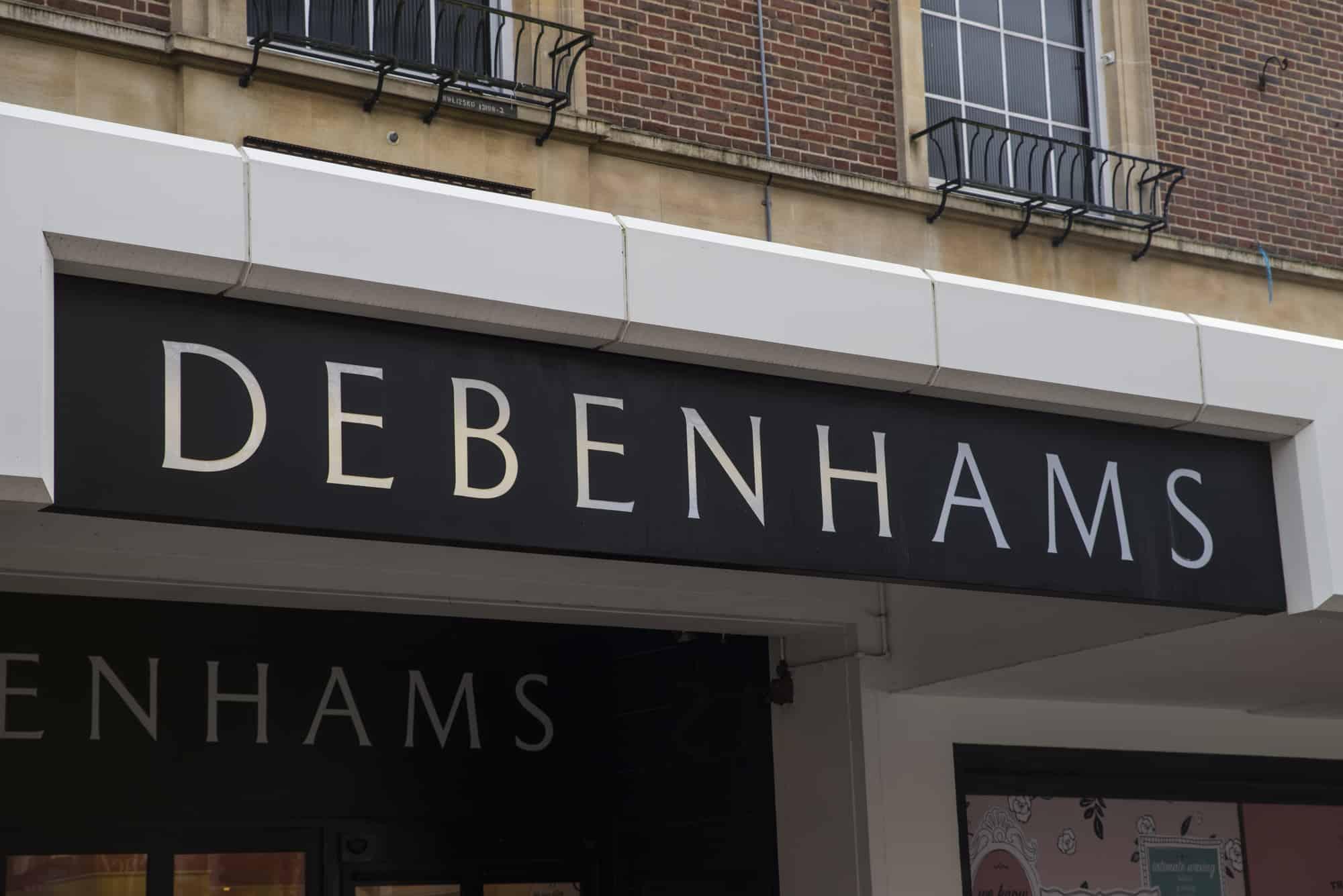Debenhams hands control over to lenders