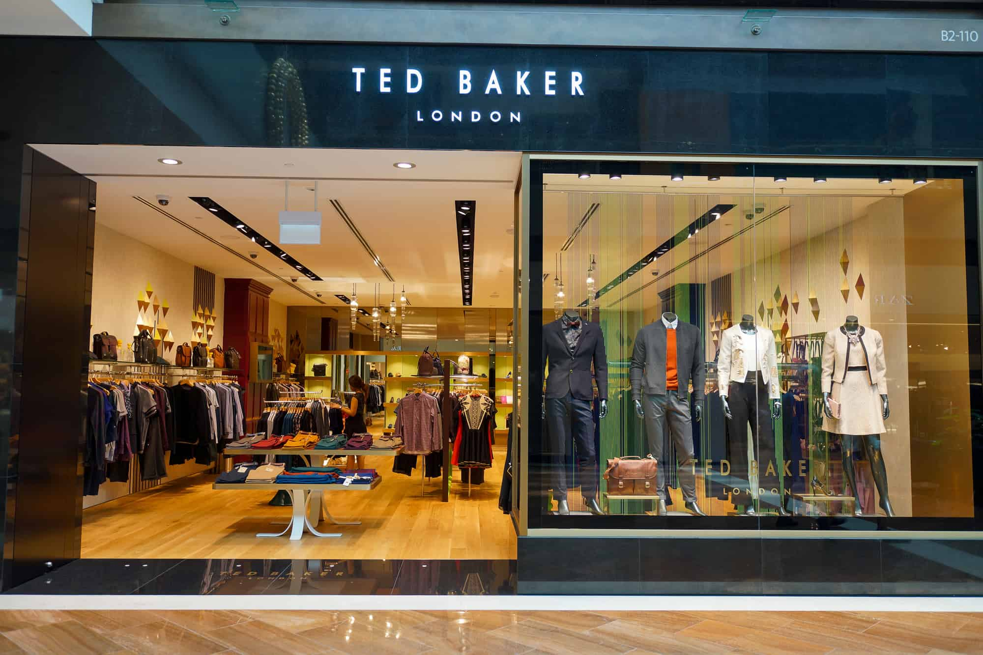 Move of the Week: Turning the Page at Ted Baker
