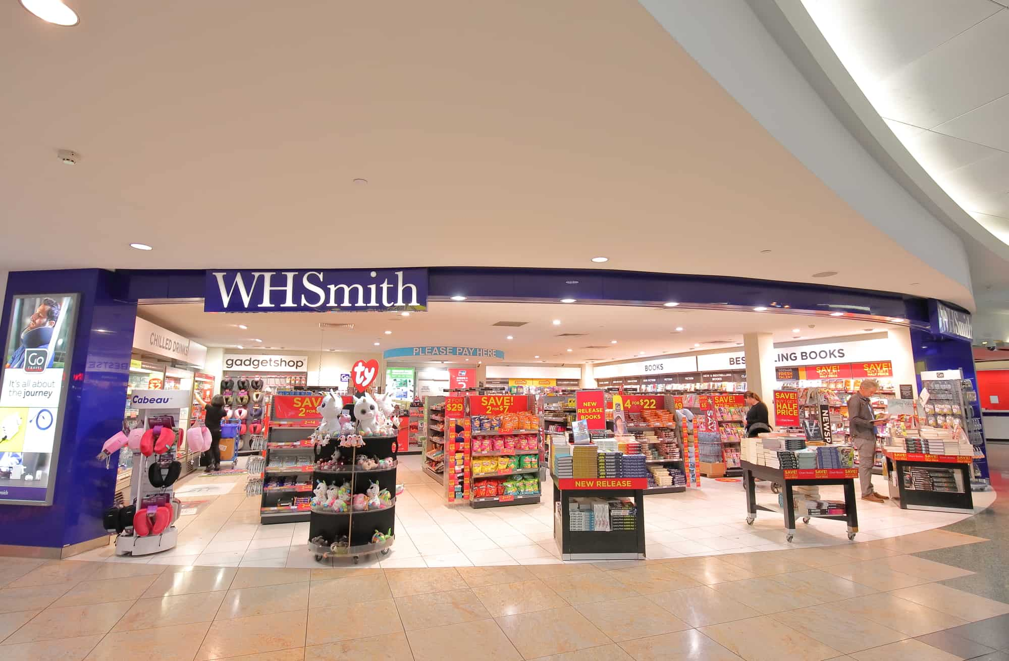 WHSmith's hospital and travel retailing experience growth